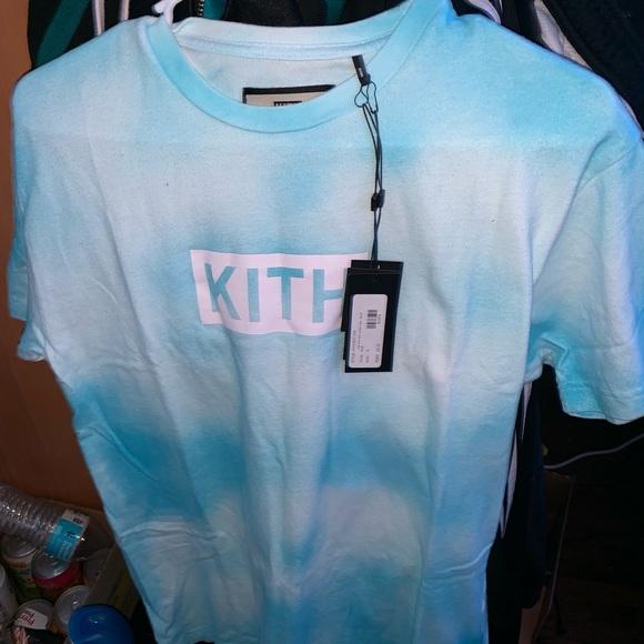 Kith Shirts Kith Tie Dye Box Logo Tee Poshmark